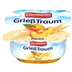Ehrmann GrießTraum Pfirsich, 115 g