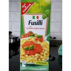 Gut & Günstig Fusilli mit Tomaten-Sahne-Sauce