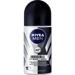 NIVEA Men Invisible for Black & White (Roll-on  50ml)