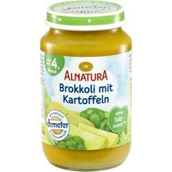 Alnatura Bio Brokkoli mit Kartoffeln, nach dem 4. Monat 190 g