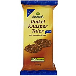Alnatura Bio Dinkel Knusper Taler 100 g