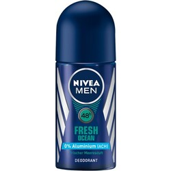 NIVEA MEN Fresh Ocean Deo Roll-On, 50 ml