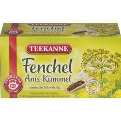 Teekanne Fenchel Anis-Kümmel  20 Beutel à 3 g