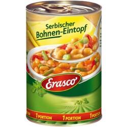 Erasco 1 Portion Serbischer Bohnen-Eintopf 400 g
