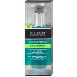 John Frieda Luxurious Volume - Inner Power Volumen-Konzentrat mit Protein (Haarmaske  60ml)