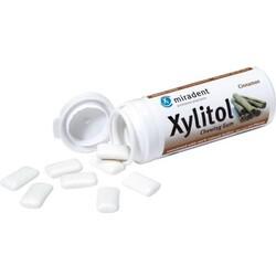Miradent Xylitol-Kaugummi Zimt, 30 Stk