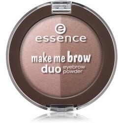 essence Make Me Brow Duo Augenbrauen Palette  Nr. 02 - Mix It Brunette!