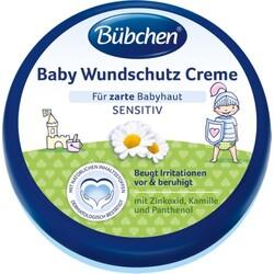Bübchen Baby Wundschutz Creme mit Sonnenblumenöl und Kamille 150 ml