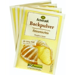 Alnatura - Reinweinstein Backpulver
