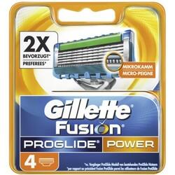 Gillette Fusion Proglide Power Ersatzklingen 4 Stück