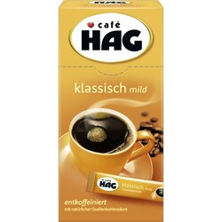 HAG Löslicher Kaffee entkoffeiniert, 18 g