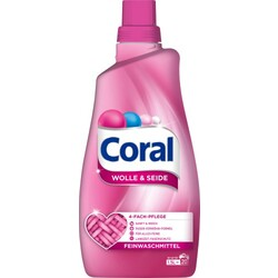 Coral Flüssig-Waschmittel Wolle & Seide 20WL 1,4 L