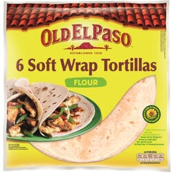 Old El Paso Soft Wrap Tortillas 350 g