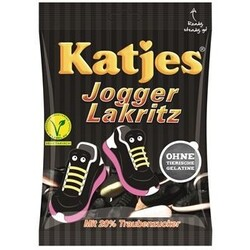 Katjes Jogger Lakritz, 200 g