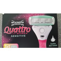 Wilkinson Sword Quattro for Women Sensitive