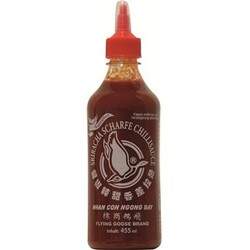 Flying Goose Sriracha Chillisauce sehr scharf, 455 ml