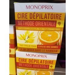 MONOPRIX CIRE DÉPILATOIRE MÉTHODE ORIENTALE