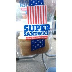 Bäckerland Super Sandwich Ohne Konservierungsstoff