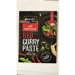 Exotic Food Red Curry Paste