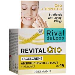 Revital Q10 Tagescreme anspruchsvolle Haut + Mandelöl, LSF 15