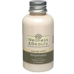 Wellness & Beauty zauberhaft verführt Körperlotion mit Vanille-Extrakt & Sesamöl