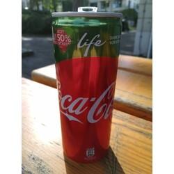 Coca-Cola Life Kalorienreduziertes Cola-Erfrischungsgetränk