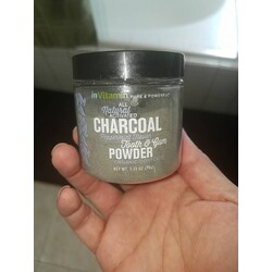 In Vitamin Natural Activated Charcoal Tooth & Gum Powder
