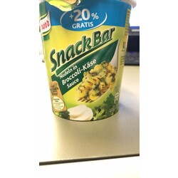 Knorr Snack Bar Nudeln In Broccoli-Käse Sauce