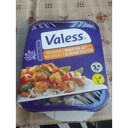 Valess Vegetarisch Wokstukjes Geschnetzeltes