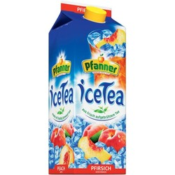 Pfanner Icetea Pfirsich