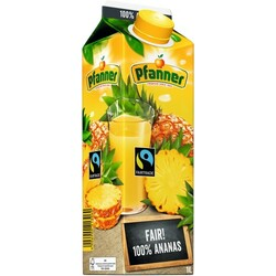 Pfanner Faitrade Ananas, 1 l
