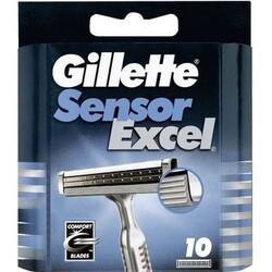 Gillette Sensor Excel Ersatzklingen 10 Stück (1 Stück)