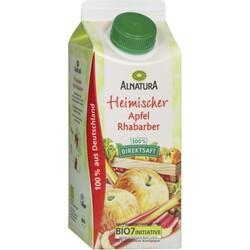 Alnatura Heimischer Apfel Rabarber 100% Direktsaft