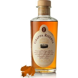 Sibona Grappa Riserva Sherry in einer Geschenkdose 0,5 ltr