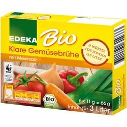 EDEKA Bio Klare Gemüsebrühe-Würfel 6x 11 g