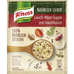 Knorr Lauch Käse Suppe