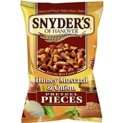 SNYDER'S Honey  Mustard & Onion Pretzel Pieces (125g)