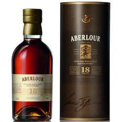 Aberlour 18 Jahre Single Malt Whisky 0,7 ltr