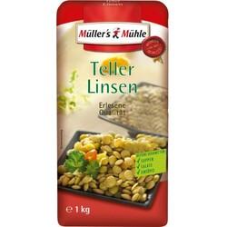 Müller's Mühle Teller-Linsen große Packung 1 kg