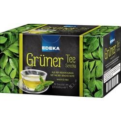 EDEKA Grüner Tee Sencha  20 Beutel à 1,75 g