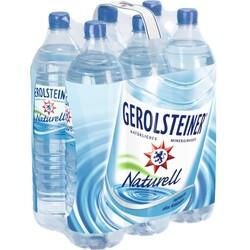 Gerolsteiner Mineralwasser Naturell Sixpack 6x 1,5 ltr PET