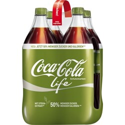 Coca-Cola Coke Life in PET 1,5 ltr