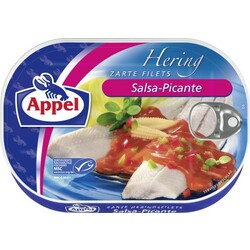 Appel Zarte Heringsfilets Salsa-Picante