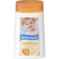 babylove sensitive Sonnenmilch 50+
