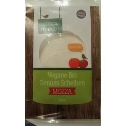 Veggy Friends Vegane Bio Genuss-Scheiben Mozza