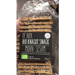 De Buer Bio Knäcke Snack Mohn-Sesam