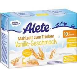 Alete Mahlzeit zum Trinken 10. Monat Vanille-Geschmack (2 x 200 ml), 6 Stück