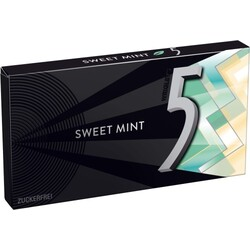 Wrigleys 5 Gum Sweet Mint 8 Stk
