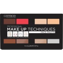 Catrice Professional Make Up Techniques Face Palette mutlicolor 010