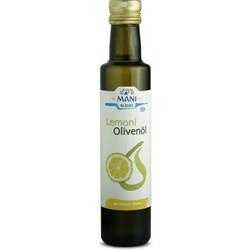 MANI Olivenöl, mit Zitrone, bio, 0,25 l Flasche